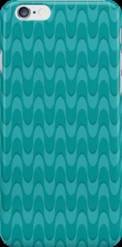 blue wave case by BoYusya