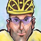 Lance Armstrong by Kevin Middleton