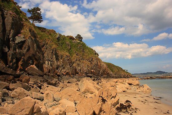 Marble Hill Cliff by Adrian McGlynn