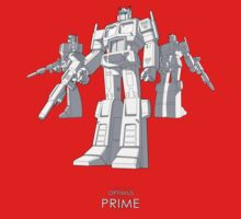 "Optimus Prime - (""model"") - dark T-shirt by NDVs"