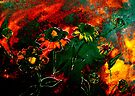 Orange Flowers and Regret.. by © Janis Zroback