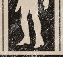 Trask 50 Years Brown Sticker