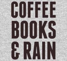Coffee Books & Rain by Look Human