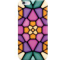 Four oranges - Voronoi iPhone Case/Skin