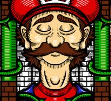 Mario's Melancholy Sticker