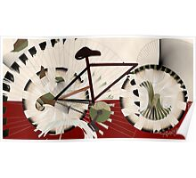 Cyclostract: Bikes without Boundries Poster
