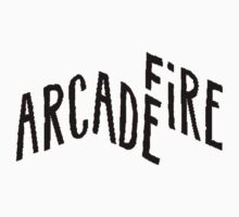 "Arcade Fire ""Logo"" Black by dieorsk2"