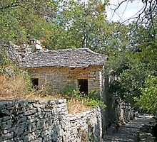 A Greek Mountain Cottage by DRWilliams