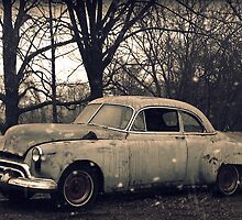 Old Car rural decay reclamation rusted rustic by jemvistaprint