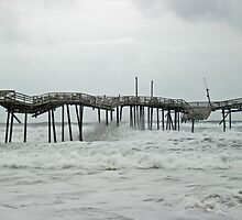 Time and Tide At The Frisco Pier - Hatteras Island - Outer Banks - NC by MotherNature2