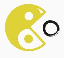 Zen Pac-Man Humor by thepixelgarden