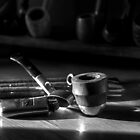 """A """"Smoking"""" Still Life by Andrew Pounder"""