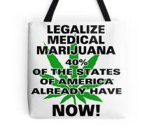 Legalize Medical Marijuana NOW! Tote Bag