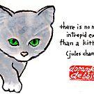 Intrepid Kitten by dosankodebbie