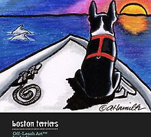 Boston Terriers Off-Leash Art™ Vol 1 by offleashart