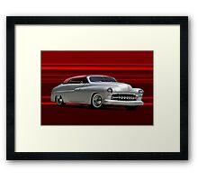 1950 Mercury Custom Convertible Framed Print