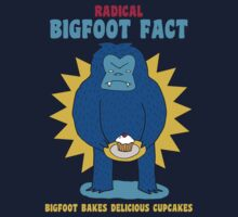 Bigfoot bakes delicious cupcakes by DiabolickalPLAN