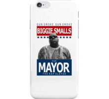 Biggie Smalls for Mayor iPhone Case/Skin