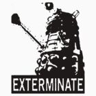 Dalek - Black by YouKnowThatGuy
