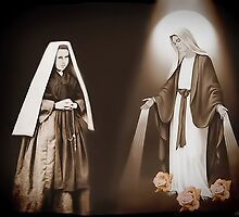 † ❤ † ❤ THE VISION OF SAINT BERNADETTE SOUBIROUS   † ❤ † ❤ by ╰⊰✿ℒᵒᶹᵉ Bonita✿⊱╮ Lalonde✿⊱╮
