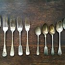Forks and Spoons - Still Life by 082010