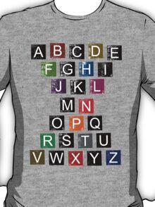 Easy AlphaBet T-Shirt