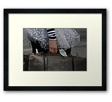 It's Never a Right Time to Say Goodbye Framed Print