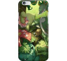 Grass starters iPhone Case/Skin