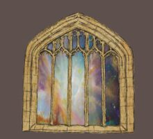 Cosmic Church Window by rachsymonds