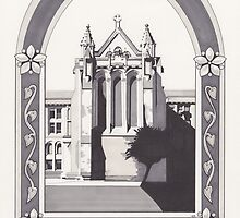 Glasgow University Chapel by Esther Green