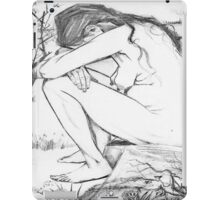 Sorrow (After Vincent Van Gogh) iPad Case/Skin