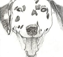Dotty in Pencil II by Jay Reed