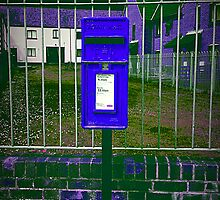 purple postbox by chrissy2465
