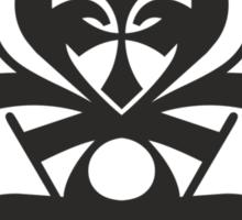 Typo Samurai - Black Sticker