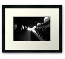 Cluster Block - Denys Lasdun Framed Print