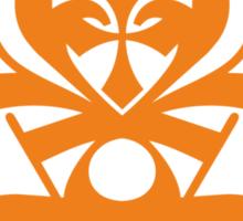 Typo Samurai - Orange Sticker
