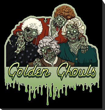Golden Ghouls by evolvingeye