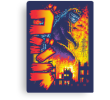 King of the Monsters Redux Canvas Print