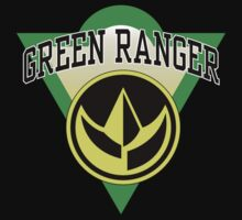 Green Ranger Power! by BobRosland