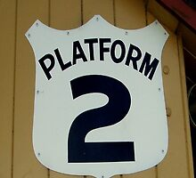 Platform 2 iphone case by Andrew Turley