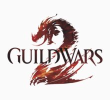 """Guild Wars 2 Logo"" T-Shirt + Sticker by Techn0v0rus"