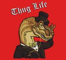 Thug Life Dinosaur Kids Clothes
