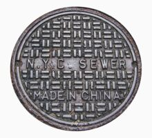NYC SEWER MADE IN CHINA by evadeht