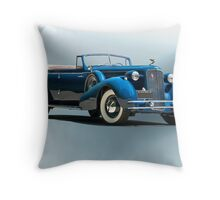 1934 Cadillac Convertible Sedan II Throw Pillow