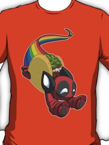 Nyan Deadpool Taco Cat T-Shirt
