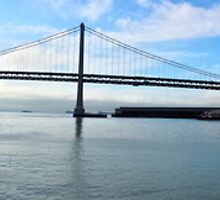Bay Bridge Panorama by HaveANiceDaisy