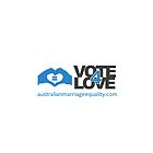 #Vote4Love (Logo) - iPhone by Australian Marriage Equality