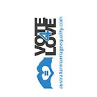 #Vote4Love (Logo Rotated) - iPhone by Australian Marriage Equality
