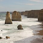 The 12 Apostles, Victoria, Australia by elm321
