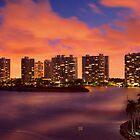 Fire Sunset by DDMITR